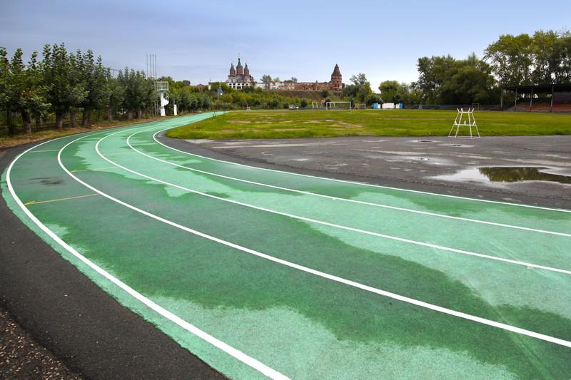 Спортивные состязания прошли 15 июля в Далматово.