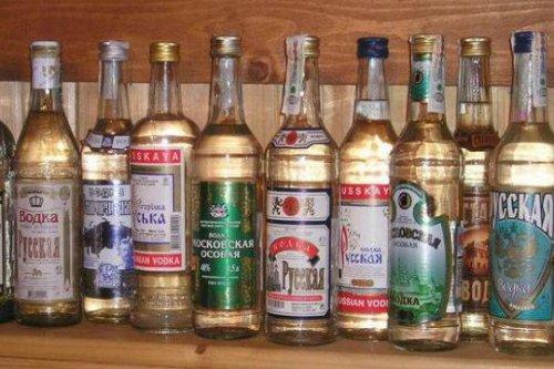 Снизилась в Курганской области продажа водки.