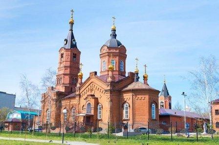 Храм Александра Невского в Кургане