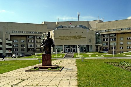 Памятник Илизарову в Кургане