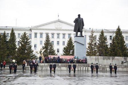 Памятник Владимиру Ильичу Ленину в Кургане