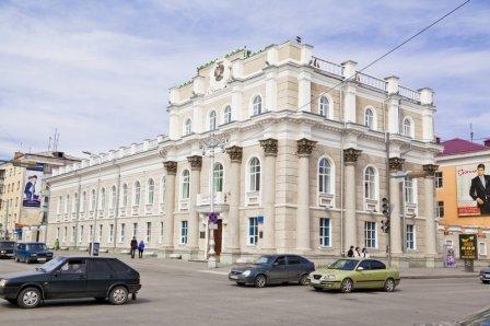 Здание Главного управления Центрального Банка РФ по Курганской области