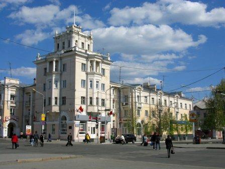 Здание по ул. Гогля 64 Курган