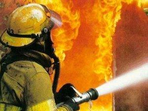 В Кургане пожар