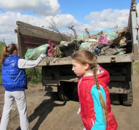 В Каргаполье Курганской области прошла акция «Сделаем наш мир чище!»