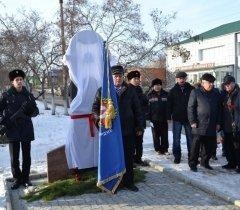 Открывается  памятник посвященный участникам ликвидации аварии на Чернобыльской АЭС