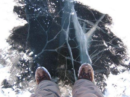 Внимание, тонкий лед