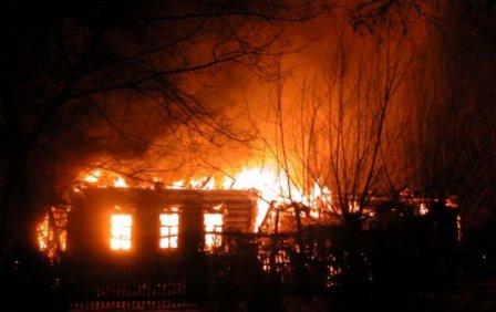 В День народного единства сгорели дети в Курганской области