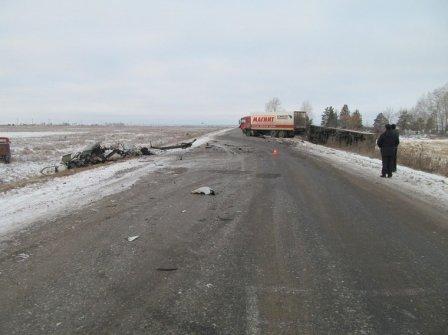 Страшная авария в Курганской области
