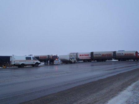 Масштабное ДТП в Курганской области. Столкнулись сразу восемь машин