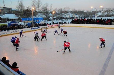 Хоккеисты Курганской области  скрестили клюшки