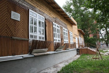 В Кургане реставрируют Дом барона Розена, где сейчас размещается Детская школа искусств №1.