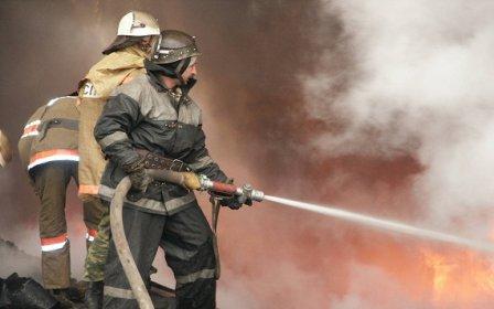 В Кургане в дачном доме сгорел второй этаж.