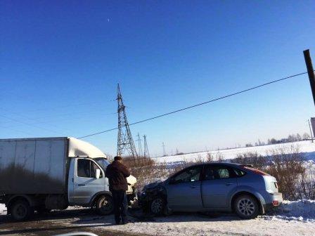 Авария в Далматовском районе