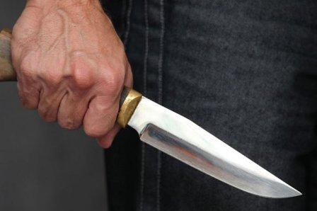 Полицейским пришлось применить оружие, когда мужчина угрожал ножом ребенку