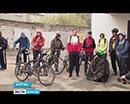 Юбилейный десятый сезон открыл Курганский велоклуб. Правда, на это раз из-за паводка традиционную