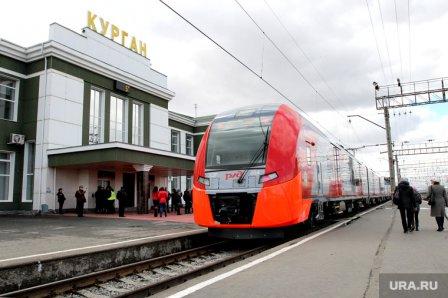 Скоро будет курсировать  новый поезд Курган -  Челябинск