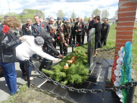 В Лебяжье почтили память ликвидаторов аварии на Чернобыльской АЭС