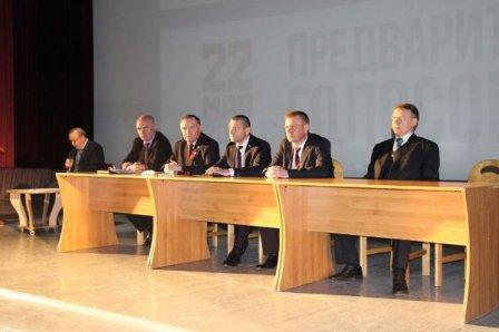 Участники предварительного голосования встретились с избирателями в Заозерном