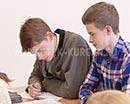 Пора экзаменов вот-вот настанет. Сейчас выпускники девятых и одиннадцатых классов готовятся к итоговой аттестации. Первый экзамен - двадцать шестого мая.