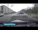 На улице Алексеева в Кургане на проезжей части был замечен двигающийся автомобиль, за рулем которого никого не было.