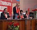 Зауральское отделение КПРФ провело отчетную конференцию. На неё из Москвы приехал депутат Госдумы, секретарь ЦК КПСС Павел Дорохин. Он дал оценку работе местных коммунистов.