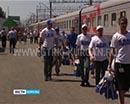 Спецпоезд ЛДПР путешествует по России. В Зауралье поезд помощи прибудет шестнадцатого мая.