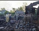 Трагедия в селе Лопатки Лебяжьевского района. В огне погибли четверо детей. Возраст - полгода, полтора года, три и шесть дет.