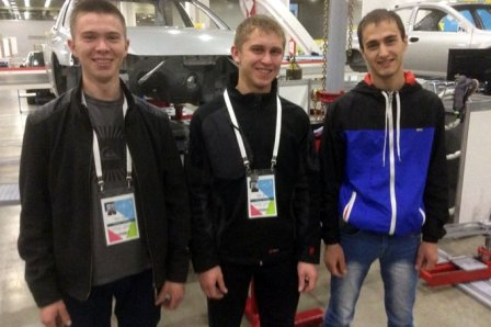 Шадринец завоевал золотую медаль в финале национального чемпионата «WorldSkills Russia»