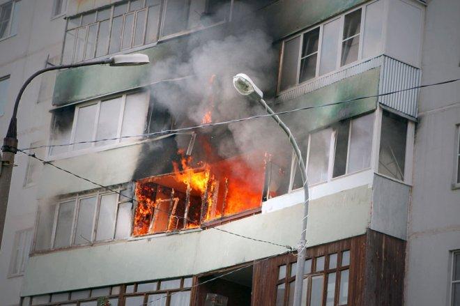 Новый пожар в Кургане 5 августа – горело одно из общежитий
