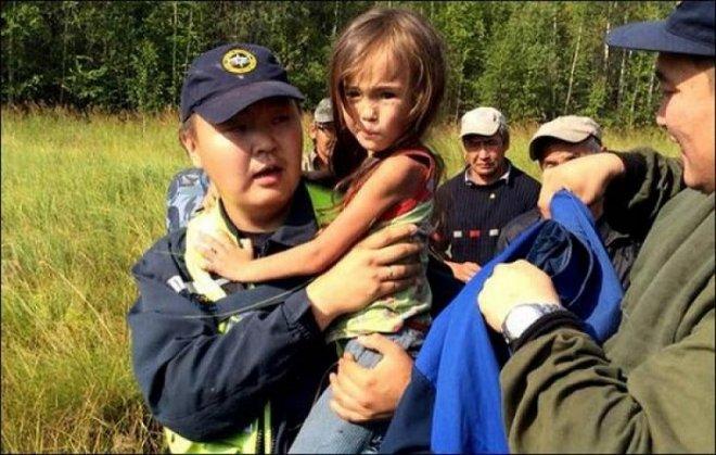10 августа в Зауралье была найдена пропавшая девочка