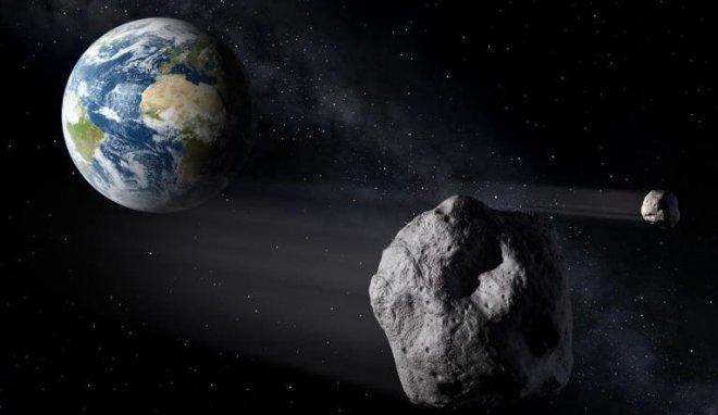 В октябре месяце 2017 года не исключено падение большого астероида на планету Земля