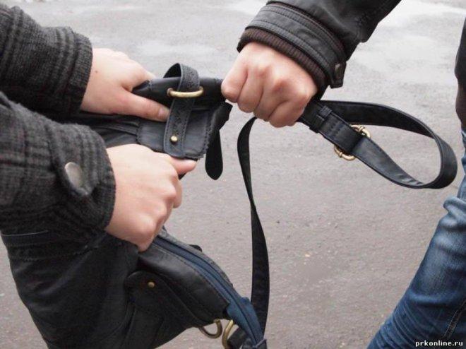 Женщина смогла дать отпор молодому грабителю