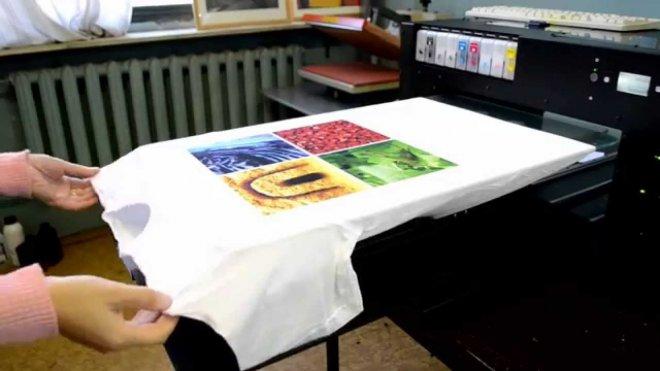 Как делается печать на футболках, способы нанесение логотипов и надписей