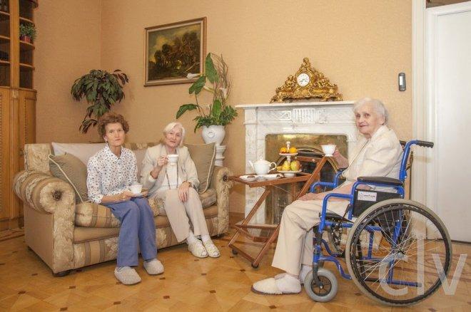 Как выбрать пансионата для пожилых людей